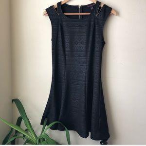 Macy's Material girl Black Skater Dress